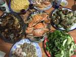 dinner-crab-noodle-snail-seafood-quynhon-binhdinh-thebroadlife-travel-vietnam