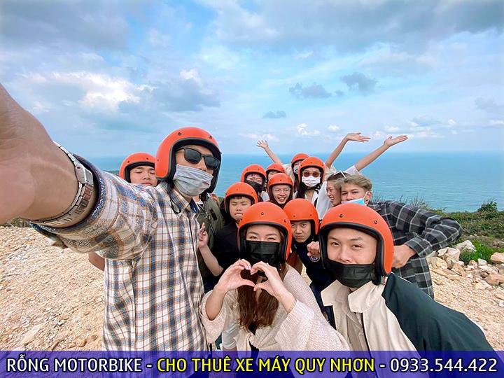 Thuê xe máy ở FLC Quy Nhơn